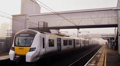 Journey Mist (dhcomet) Tags: 700051 thameslink stalbans city station herts hertfordshire transport mist fog foggy class700 siemens desiro