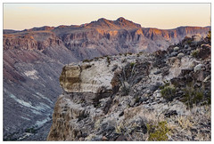 Tapado Canyon at Dawn
