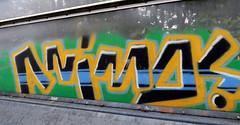 Graffiti in Amsterdam (wojofoto) Tags: amsterdam nederland netherland holland graffiti streetart wojofoto wolfgangjosten throw throwup throwups snelweg highway a10 animo