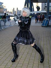 2B - Nier Automata (timz2011) Tags: 2b nierautomata lightwingdragon mcmlondoncomicconoctober2019 mcmlondoncomiccon mcm comiccon cosplay anime gaming film xt3 fujifilm