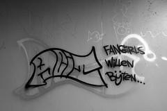 Graffiti in Amsterdam (wojofoto) Tags: amsterdam nederland netherland holland graffiti streetart wojofoto wolfgangjosten tags tag acit blackandwhite monochrome zwartwit