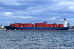 Independent Voyager  Liverpool  28-07-2018 (Joseph Collinson) Tags: liverpool lancashire mersey river container outbound july 2018 summer