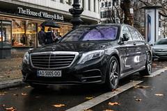 Ukraine (Zakarpattia) - Mercedes-Benz S-Class W222 (PrincepsLS) Tags: ukraine ukrainian license plate ao zakarpattia germany berlin spotting mercedesbenz sclass w222