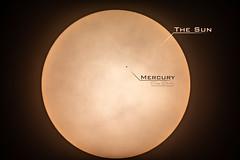 Mercury Transit Over The Sun (treydavisonline) Tags: nikon d7100 sun star transit mercury planet eclipse clouds celestron 4se orion skyview sirius eqg space astrophotography astro photography astronomy astrology 2019 2032