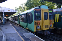 Southern 455831 (Will Swain) Tags: station 19th october 2019 london greater city centre capital south train trains rail railway railways transport travel uk britain vehicle vehicles england english europe transportation class carshalton beeches southern 455831 455 831