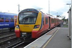 South Western Railway (Will Swain) Tags: station 19th october 2019 london greater city centre capital south train trains rail railway railways transport travel uk britain vehicle vehicles england english europe transportation class swr clapham junction