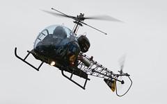 "Bell 47G-3B-1 ""Soloy"" @ LOXZ (stecker.rene) Tags: bell47 bell bell47g3b1 47g3b 47g3b1 soloy oexdm dheba d1 modell hangar7 flyingbulls redbull mirkoflaim mirko flaim pilot canopy helicopter heli rotorcraft rotor exmilitary aerialdisplay flyingdisplay airshow aircraft rollsroyce 250c20b fliegerhorst hinterstoisser zeltweg loxz afb airbase spielberg styria steiermark austria österreich aerodrome flight vfr flying canon eos7d markii canonef40056l ef400mmf56l ef400mm 400mm 14x h13 htl hul modell30 ranger soap bubble sioux"