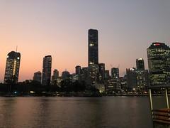 Brisbane River Walk at night. (dok1969) Tags: