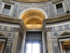 Italy - Rome - Pantheon - Entrance (JulesFoto) Tags: italy rome roma church pantheon interior