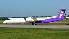 G-JECP (AnDyMHoLdEn) Tags: flybe bombardier dash8 egcc airport manchesterairport manchester 23l