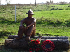 A sculpture to commemorate the role of the 'Sawdust Fusiliers' based in Devon during the First World War unveiled Sep 2018 (guyfogwill) Tags: 2019 autumn autumncolours canada color colour countryside devon fogwill guy guyfogwill jamestempler leaves memorial november sawdustfusiliers sclupture southwest spectacular stover stovercountrypark teigngrace teignbridge theshaldives tree trees uk unitedkingdom war wood woodland ww1 wwi flicker photo interesting absorbing engrossing fascinating riveting gripping compelling compulsive beach vacances water