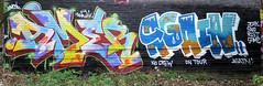 Graffiti in Amsterdam (wojofoto) Tags: amsterdam nederland netherland holland graffiti streetart wojofoto wolfgangjosten amer again