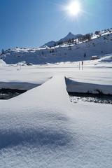 snow@bernina: Footpath (3/3) (jaeschol) Tags: berninapass europa europe graubuenden grischuna kantongraubünden kontinent schweiz suisse switzerland