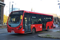 Arriva London SLS17 LK66AOG (Will Swain) Tags: sutton 19th october 2019 london greater city centre capital south bus buses transport transportation travel uk britain vehicle vehicles county country england english west croydon station arriva sls17 lk66aog