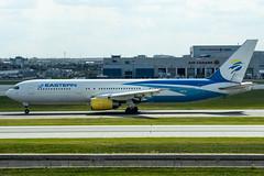 N706KW Boeing 767-336(ER) 24339 CYYZ (CanAmJetz) Tags: n706kw boeing 767336er 767 cyyz yyz eastern airlines aircraft airplane nikon