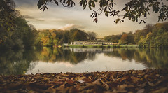 Das Haus am See (FrankfromCologne) Tags: deutschland köln cologne lindenthal germany nikon see lake park wald wood landschaft landscape z 24 70 4 farbe color herbst autum