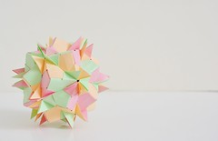 Pentagons Sonobe (Byriah Loper) (Byriah Loper) Tags: origami origamimodular modularorigami modular compound complex byriahloper paperfolding paper polygon polyhedron