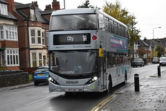 Nottingham City Transport 429 (Ash Hammond) Tags: nottinghamcitytransport scanian280ud alexanderdennisenviro400cbgcity 429 yp17uga