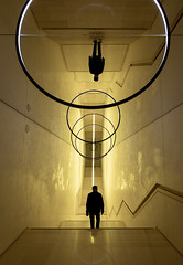 Gravity Stairs (Dan Portch) Tags: south korea seoukl seoul samsung museum art leeum gravity stairs silhouette staircase stairwell olafur eliasson lights fine modern street photography