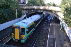 Southern Electrostar 377319 (Will Swain) Tags: station 19th october 2019 london greater city centre capital south train trains rail railway railways transport travel uk britain vehicle vehicles england english europe transportation class carshalton beeches southern electrostar 377319 377 319
