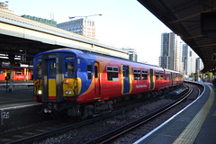 South Western Railway (Will Swain) Tags: station 19th october 2019 london greater city centre capital south train trains rail railway railways transport travel uk britain vehicle vehicles england english europe transportation class swr