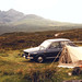 Renault 12 on the Isle of Skye