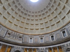 Italy - Rome - Pantheon - Dome (JulesFoto) Tags: italy rome roma church pantheon interior dome
