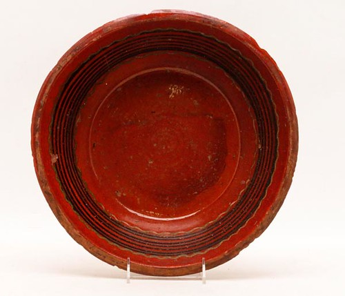 Hagerstown, MD attributed slip decorated redware bowl ($392.00)