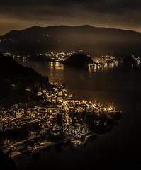 VARENNA  Long  exposure (domenico.orlando74) Tags: varenna lecco longexposure landscape canon80d canon pointofwiew composition color night light city