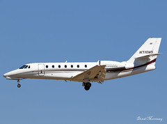 Aircraft Guaranty Corp. Cessna 680 Citation Sovereign N710MS (birrlad) Tags: palma pmi international airport spain aircraft aviation airplane airplanes bizjet private passenger jet arrival arriving approach finals landing runway n710ms cessna 680 citation sovereign c680 guaranty corp
