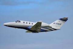 M-KNOX Cessna 525 Citation M2, EGNS 18/9/19 (David K- IOM Pics) Tags: egns iom isleofman isle man ronaldsway airport mknox manx register cessna 525 citation m2 business jet
