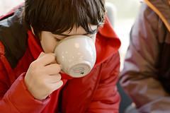 Viktor drinks lemon & ginger tea☕ (lozinka_gergova) Tags: