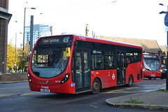 Arriva London SLS14 LK66AOD (Will Swain) Tags: sutton 19th october 2019 london greater city centre capital south bus buses transport transportation travel uk britain vehicle vehicles county country england english west croydon station arriva sls14 lk66aod