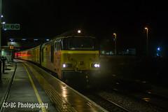 Night Skips (CS:BG Photography) Tags: colas colasrail colasrailfreight networkrail testtrain pbo peterborough ecml eastcoastmainline class67 skip 67027 charlotte elypeterboroughline