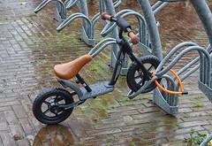 Een natte fiets op 11 november 2019 (Gerard Stolk ( vers le toussaint)) Tags: delft