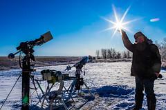 Transit of Mercury Selfie with Sun (Amazing Sky Photography) Tags: 2019 alberta mercury november11 sun transit filter selfie solar telescope