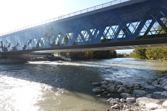 Pont des Artisanes @ CEVA @ Arve river @ Geneva @ Walk along the Arve river