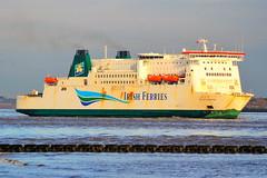 Isle of Inishmore  Liverpool  05-01-2018 (Joseph Collinson) Tags: liverpool lancashire mersey river ferry irishferries inbound january 2018 winter
