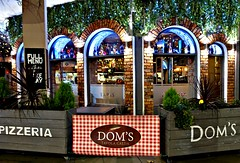 Dom's Pizza in Mancehster (Tony Worrall) Tags: manchester greatermanchester gmr annual event foodfestival stalls dark night goods fun welovethenorth nw northwest north update place location uk england visit area attraction open stream tour country item greatbritain britain english british gb capture buy stock sell sale outside outdoors caught photo shoot shot picture captured ilobsterit instragram doms pizza cafe restaurant eat cook italian italy sign