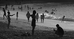 Dernière photo (jielach) Tags: paysbasque biarritz blackandwhite noiretblanc ombres océan