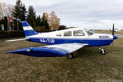 HA-TUP (Andras Regos) Tags: aviation aircraft plane fly airport lhny nyíregyháza trener trenerkft piper pa28 cherokee warrior warriorii spotter spotting