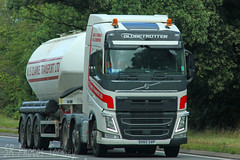 Volvo FH Tanker NS Clarke Transport Ltd DX65 SVP (SR Photos Torksey) Tags: transport truck haulage hgv lorry lgv logistics road commercial vehicle freight traffic volvo fh tanker clarke