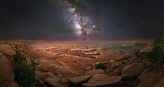 Canyonlands National Park (Wayne Pinkston) Tags: canyonlands canyon nationalpark night sky nightsky nightphotography nightlandscape waynepinkston waynepinkstonphotocom lightcraftercom stars starrynight starrysky milkyway galaxy beautifulsky astrophotography landscapeastrophotography widefieldastrophotography