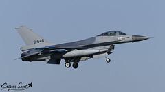 RNLAF F-16AM Fighting Falcon - J-646 (Caspar Smit) Tags: rnlaf f16 falcon viper fightingfalcon j646 leeuwarden ehlw frisianflag aircraft fighter jet aviation airplane airforce nikon d7000