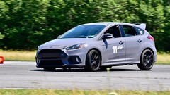 Stealth Grey RS (R.A. Killmer) Tags: ford course cone conekiller fast horsepower midstate airport scca central pa nikon d750 panning blur