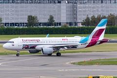 D-AEWS Airbus A320-214 7439 EHAM (CanAmJetz) Tags: daews airbus a320214 eham ams aircraft airplane eurowings avis nikon
