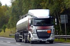 Photo of SJ18 UFG - DAF CF 480 /  bulk tanker - Carntyne Transport Co. Ltd, Springburn, Glasgow, Scotland.