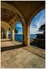 """La magia de un rincón"" (Gerkraus) Tags: cataluña costabrava verano canon paseo mar arquitectura"