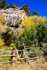 Cliffs and Colors (Buck--Fever) Tags: arizona arizonaskies arizonawonders northernarizona northkaibabnationalforest kaibabplateau castlesprings arizonafallcolors fallcolors cliffs canon60d tamron18400lens nature landscape bluesky