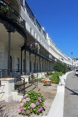 Waterloo Crescent, Dover, England (alexdavidwriter) Tags: kent dover england britain uk waterloocrescent seaside architecture houses buildings terrace arches victorian english traditional arcade street urban british